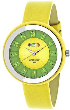 Crayo Celebration Collection CRACR3403 Unisex Watch with Leather Strap