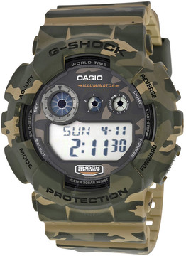 Casio G Shock Classic Brown Camouflage Resin Men's Watch