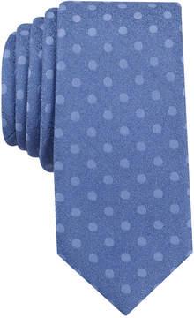 Bar III Men's Bayberry Dot Slim Tie, Created for Macy's