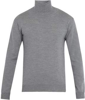 Oliver Spencer Roll-neck wool sweater