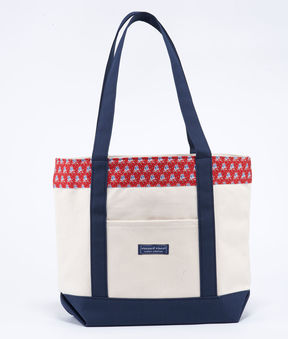Vineyard Vines New England Patriots Player Classic Tote