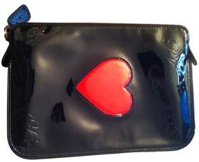 Roger Vivier Black Patent leather Clutch bag