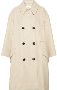Etoile Isabel Marant Flicka Double-breasted Wool-blend Coat - Ecru