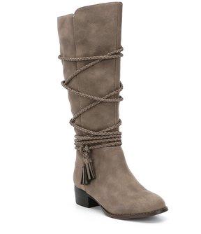 Steve Madden Girls J-Chally Riding Boots