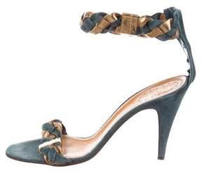 Chloé Braided Suede Sandals