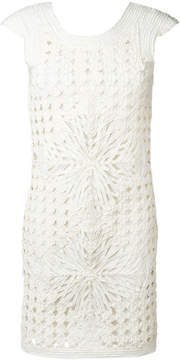 Class Roberto Cavalli layered cut-out dress
