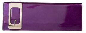 Gucci Patent Leather Romy Clutch - METALLIC - STYLE