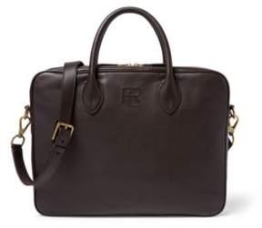 Ralph Lauren Leather Soft Gents Briefcase Brown One Size