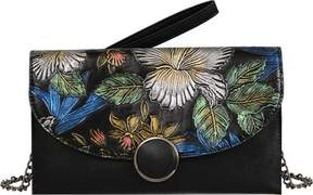 Mellow World Gardenia Floral Envelope Handbag (Women's)