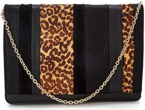 Sole Society Ragna Leopard Clutch