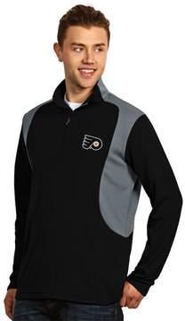Antigua Philadelphia Flyers Delta 1/4-Zip Pullover - Men
