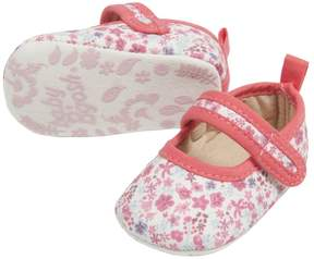 Osh Kosh Baby Girl Pop Trim Mary Jane Crib Shoes