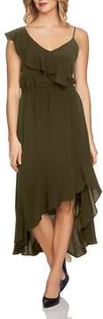 1 STATE 1.STATE Ruffled Asymmetric Dress