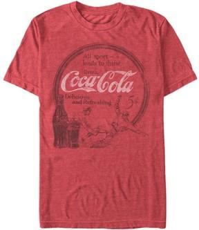 Fifth Sun Heather Red 'All Sport' Coca-Cola Tee - Men