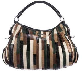 Miu Miu Leather Patchwork Hobo