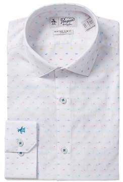 Original Penguin Printed Slim Fit Shirt