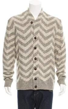Missoni Linen & Wool-Blend Cardigan w/ Tags