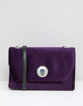 New Look Velvet Chain Shoulder Bag