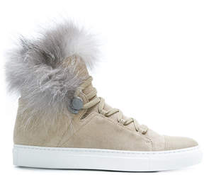 Moncler hi-top lace-up sneakers