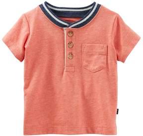 Osh Kosh Oshkosh Bgosh Baby Boy Pocket Henley
