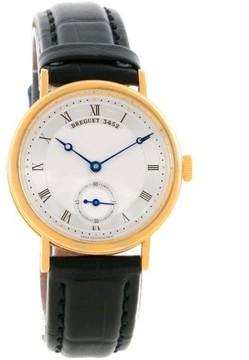 Breguet Classique 5907BA/12/984 18K Yellow Gold Mechanical Mens 34.6mm Watch