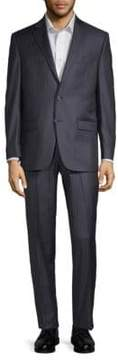 Lauren Ralph Lauren Striped Wool Suit