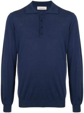Laneus long sleeved polo shirt