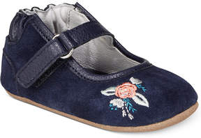 Robeez Blossom Ballet Flats, Baby Girls (0-4) & Toddler Girls (4.5-10.5)