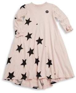 Nununu Toddler, Little Girl's & Girl's Star Cotton Dress