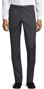 Incotex Slim-Fit Flat-Front Pants