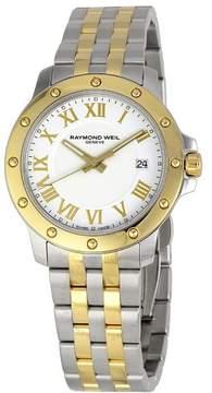 Raymond Weil Tango White Dial Two-tone Men's Watch