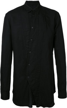 Julius asymmetric buttoned shirt