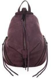 Rebecca Minkoff Medium Julian Leather Backpack - DARK CHERRY - STYLE