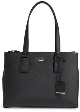 Kate Spade Cameron Street - Small Jensen Leather Tote - Black