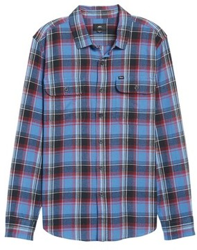 Obey Men's Marvyn Plaid Woven Shirt
