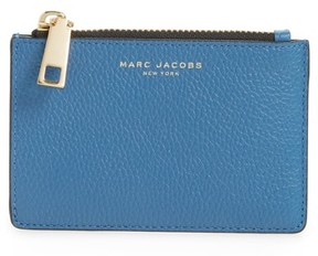 Marc Jacobs Women's Gotham Leather Wallet - Blue - BLUE - STYLE