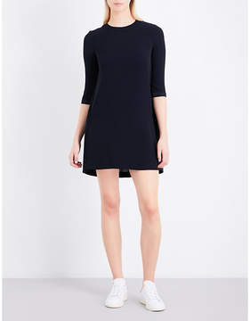 Claudie Pierlot Pleated crepe mini dress