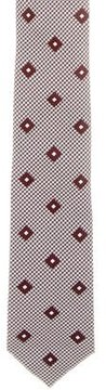 Chanel Houndstooth Silk Tie w/ Tags
