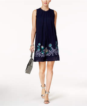 Cable & Gauge Cupio Embroidered Shift Dress