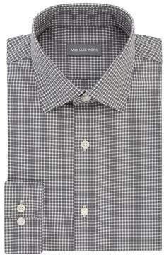 MICHAEL Michael Kors Regular-Fit Airsoft Cotton Check Dress Shirt