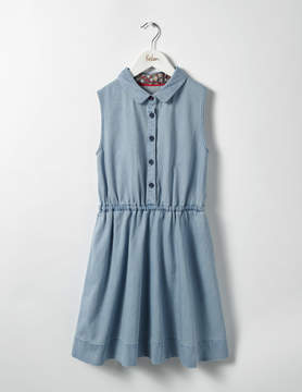 Boden Denim Shirt Dress
