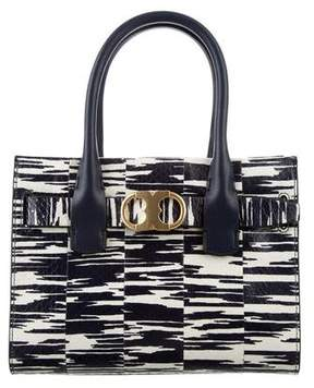 Tory Burch Small Gemini Link Tote - ANIMAL PRINT - STYLE