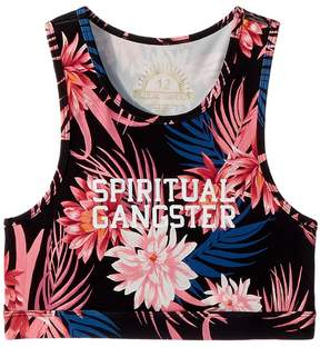 Spiritual Gangster Kids Tropics Technical Bra Girl's Bra