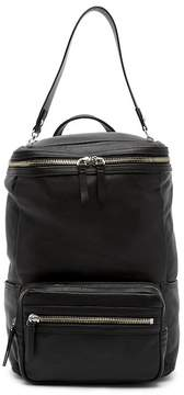 Vince Camuto Patch Convertible Leather Backpack