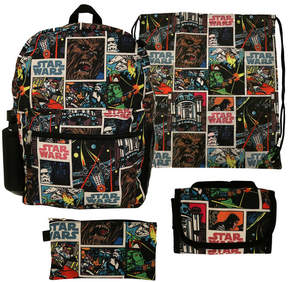 Star Wars LICENSED PROPERTIES Starwars 5PC Backpack Set- Boys