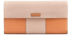 Tory Burch BLOCK-T TRAVEL CLUTCH - DAISY - STYLE