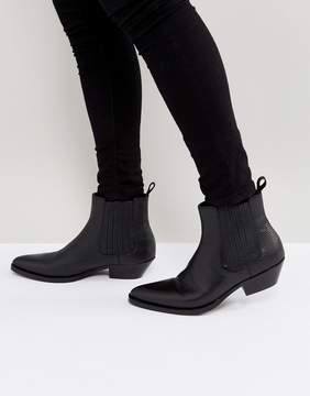 Aldo Etigovia Leather Chelsea Boots In Black