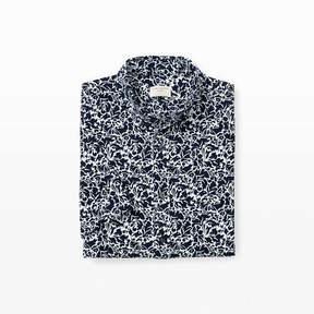 Club Monaco Short-Sleeve Seersucker Shirt