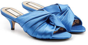 N°21 N21 Twist Satin Mules