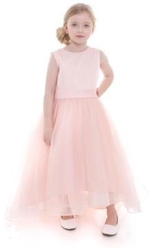 No Name Hi-Low Satin Dress